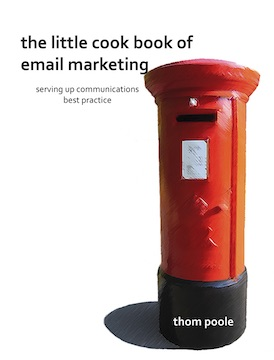 Cover of The Little Cookbook of Email Marketing